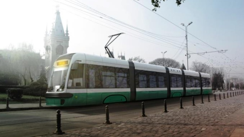 Pesa Swing tram for the city of Iași