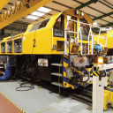 Assembling of Clayton CB40 hybrid locomotives