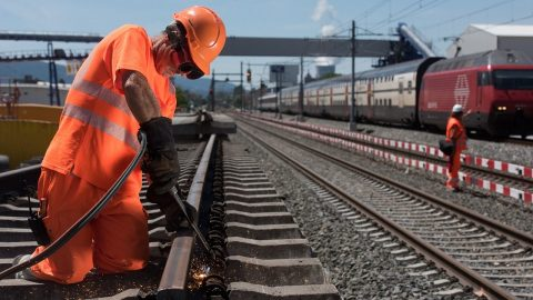 SBB links major cities with four-track railways