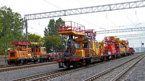 Belarusian track motorcars for electrification, source: Belarusian Railway
