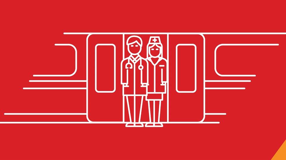 Polregio offers nominal train tickets for Polish medics, source: Polregio
