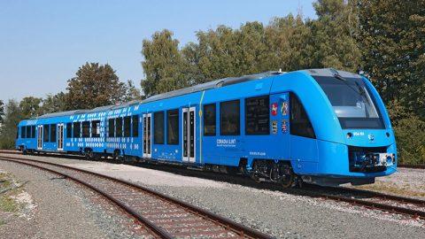 Coradia iLint hydrogen train