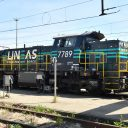 Lineas shunting locomotive ATO, source: Lineas