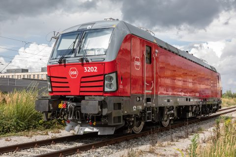 The AC version of the Vectron locomotive by Siemens