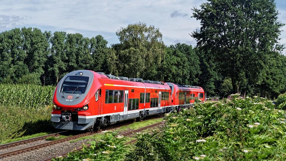 Pesa Link diesel train of DB Regio