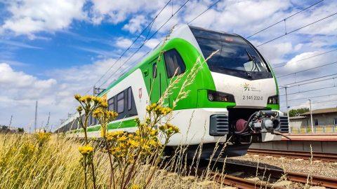 Stadler Flirt electric train of Koleje Mazowieckie, source: Artur Dura / Koleje Mazowieckie