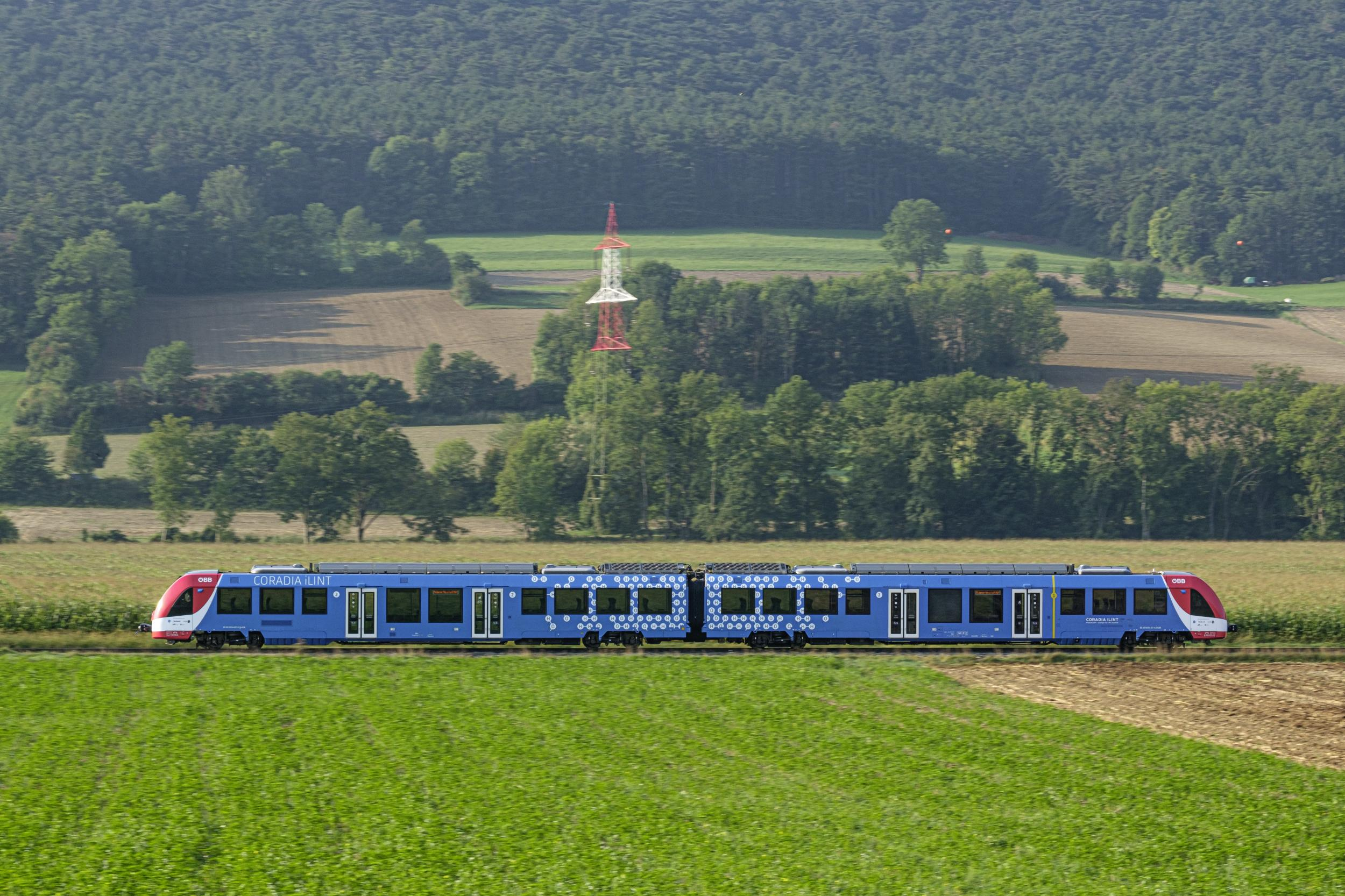 The Coradia iLint hydrogen train by Alstom