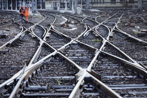 Tracks of Lyon-Perrache (SNCF, Arnaud Février)