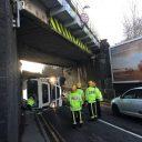 West Midlands bridge strike, source: Network Rail