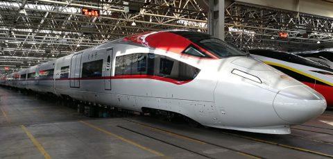 CRRC's new freight train, Photo: Xinhua