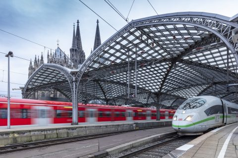 Köln Hbf in Germany