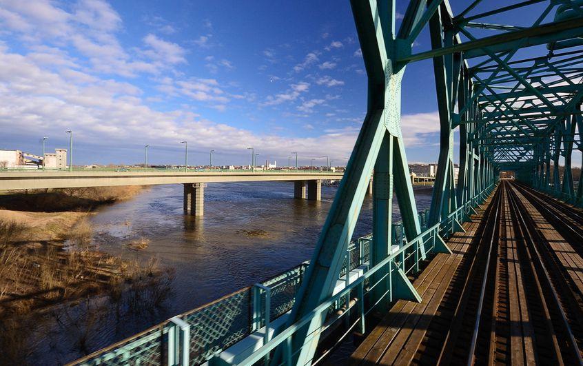 Kaunas Railway bridge in Lithuania, LTG Infra