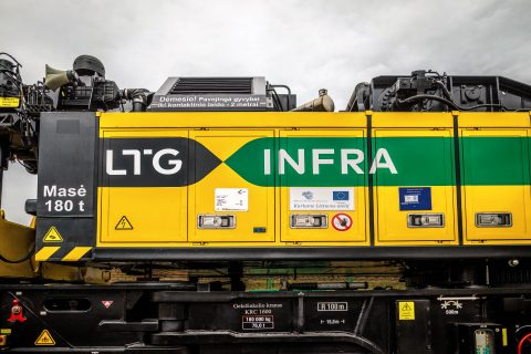 LTG Infra, Lithuania's infrastructure manager