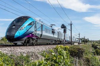 Hitachi UK intercity train