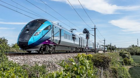 Hitachi UK intercity train