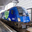 ÖBB EU Year of Rail locomotive. source: ÖBB / scheiblecker