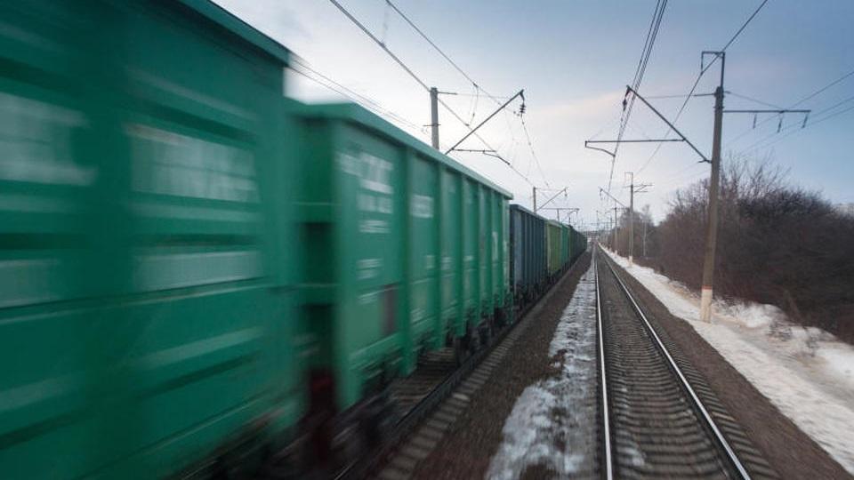 Russian freight train, source: Russian Railways