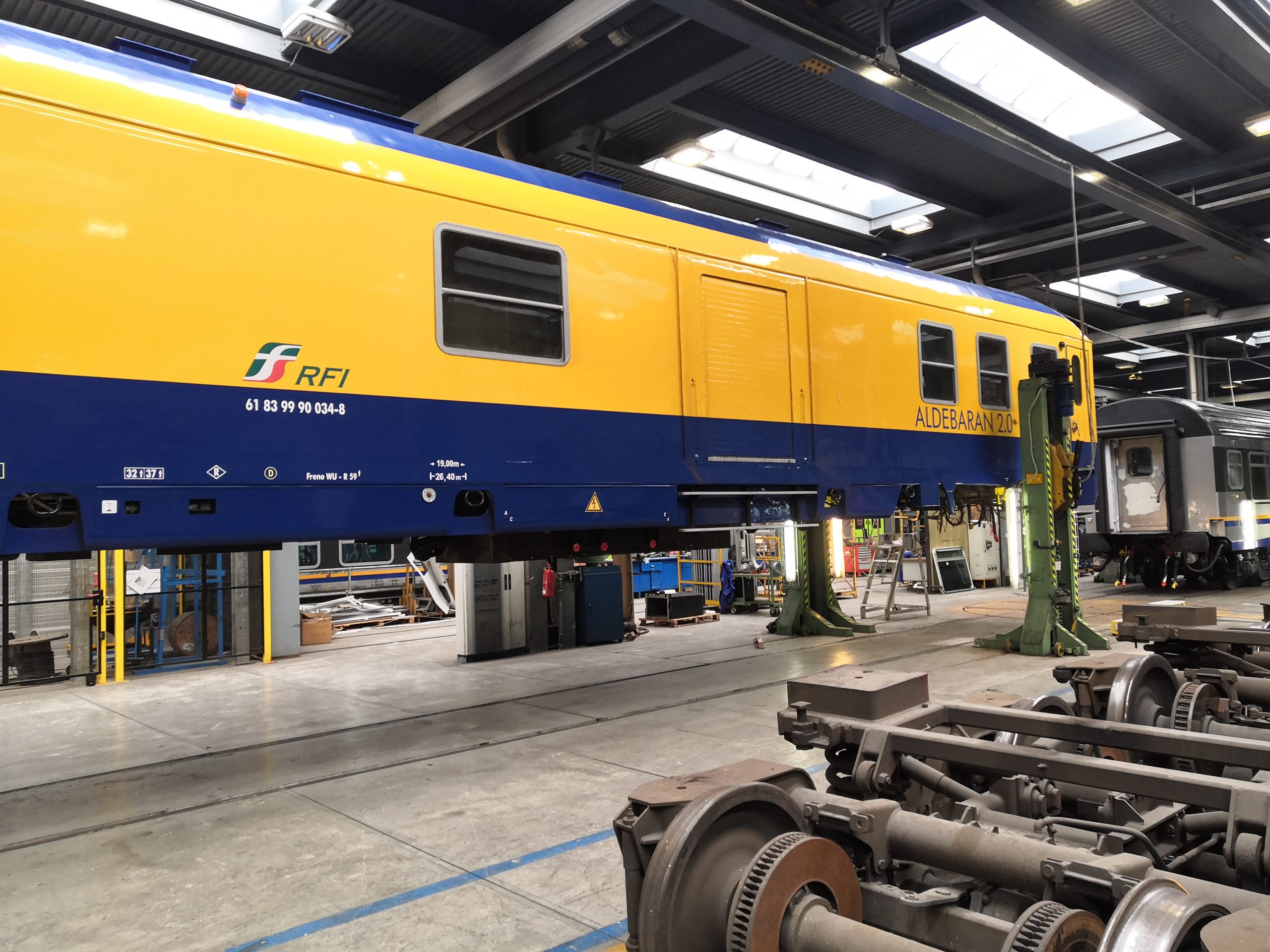 The Aldebaran 2.0 diagnostics wagon, photo: RFI