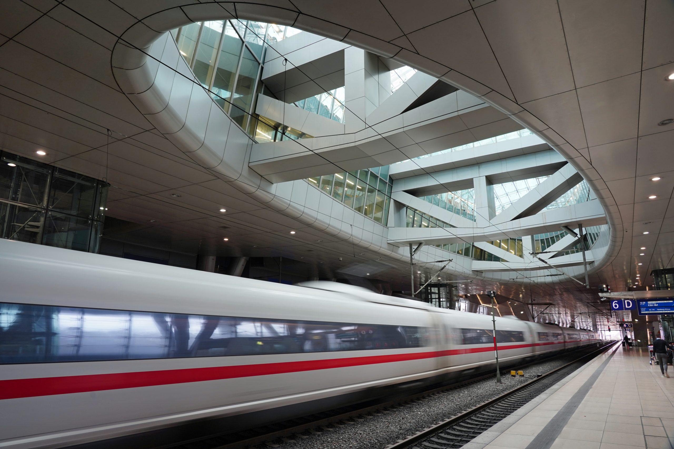 Express Rail train to Frankfurt Airport