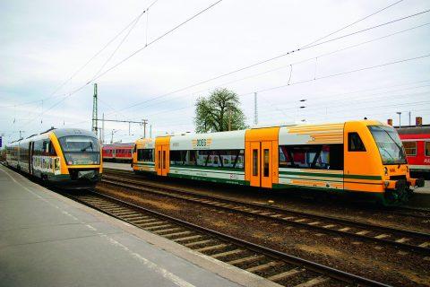 ODEG Desiro RS1 train