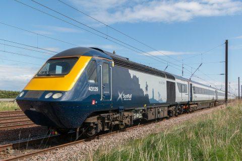 Scotrail intercity train