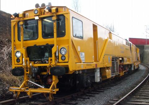 Multipurpose Stoneblower, Harsco Rail