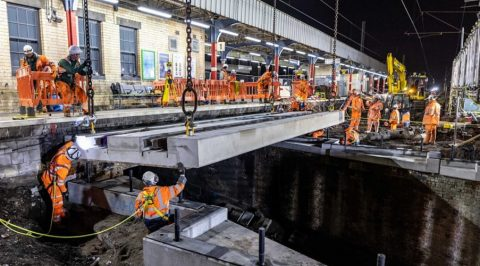 Network Rail has completed a range of essential upgrades to the railway between Euston, the Midlands, North West and Scotland over Easter