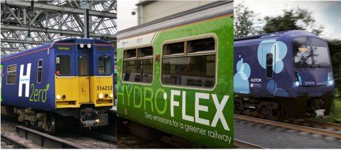 three hydrogen trains, image: RIA
