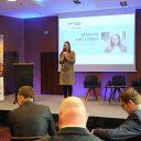 Majorie van Leijen speaks at RailFreight Summit 2019