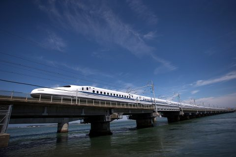 Shinkansen bullet train, image: JR Central